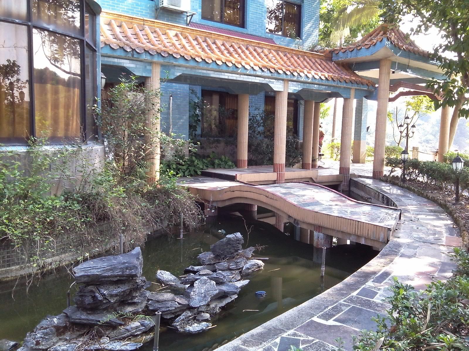 广东广州从化棋杆650亩山庄别墅农庄果园鱼塘农场转让